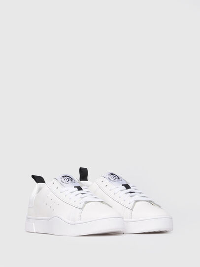 Diesel - S-CLEVER LOW W, Blanco Brillante - Sneakers - Image 2