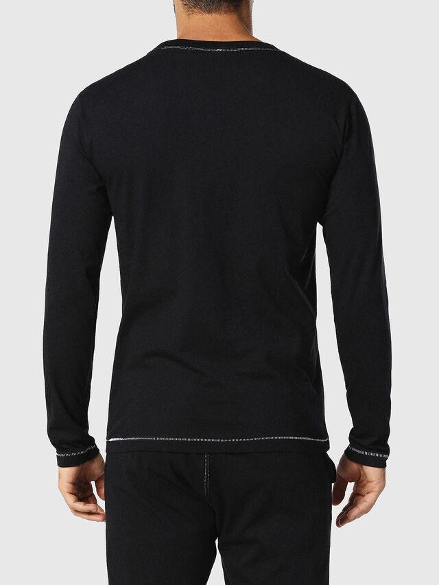 Diesel - UMLT-JUSTIN, Negro - Camisetas - Image 2