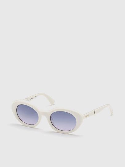 Diesel - DL0281, Blanco - Gafas de sol - Image 2