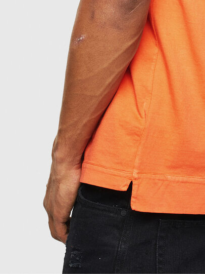 Diesel - T-THEA, Naranja - Camisetas - Image 5