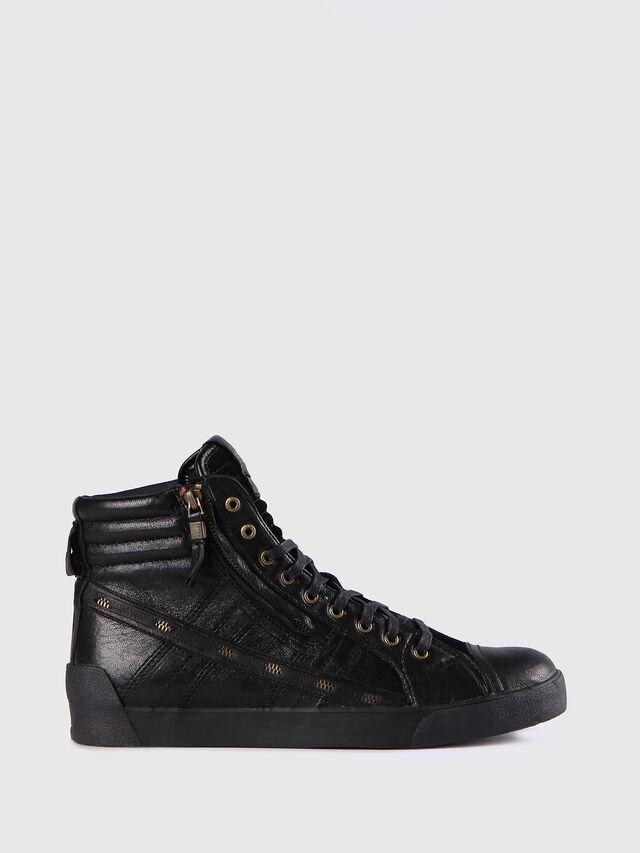 Diesel - D-STRING PLUS, Negro - Sneakers - Image 1