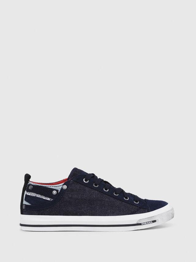 Diesel - EXPOSURE IV LOW  W, Azul Oscuro - Sneakers - Image 1