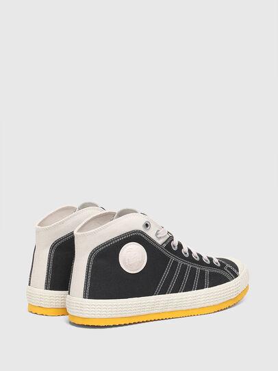 Diesel - S-YUK MC, Negro/Amarillo - Sneakers - Image 3