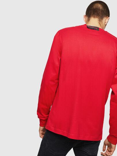 Diesel - LCP-T-JUST-LS-PALERM, Rojo - Camisetas - Image 3