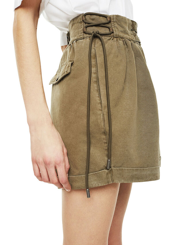 Diesel - SIMONY, Verde Militar - Shorts - Image 4