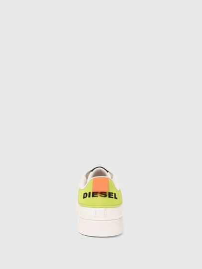 Diesel - S-CLEVER LOW LACE, Blanco/Amarillo - Sneakers - Image 5