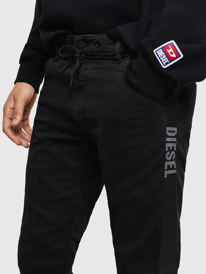 Diesel - Krooley JoggJeans 069JH, Negro/Gris oscuro - Vaqueros - Image 3