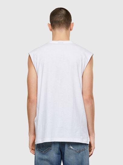 Diesel - T-OP, Blanco - Camisetas - Image 2
