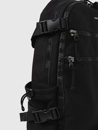 Diesel - F- URBHANITY BACK, Negro - Mochilas - Image 4