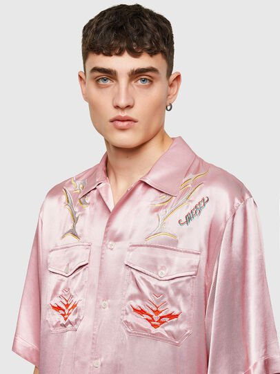 Diesel - S-MITCH, Rosa - Camisas - Image 5