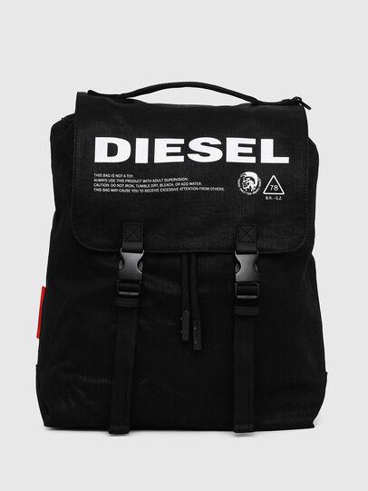 Diesel - VOLPAGO BACK, Negro - Mochilas - Image 1