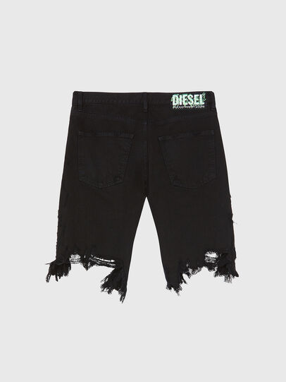 Diesel - D-KRASY, Negro - Shorts - Image 2