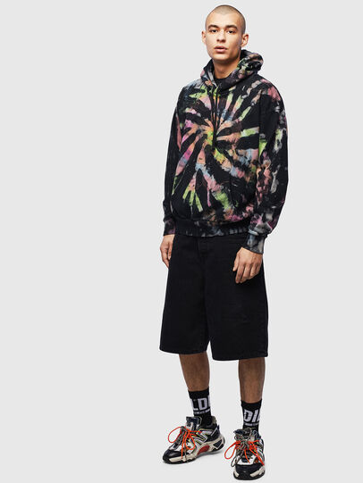Diesel - S-ALBY-S1, Negro - Sudaderas - Image 7