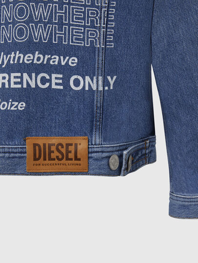 Diesel - NHILL-SP2, Azul Claro - Chaquetas de denim - Image 6