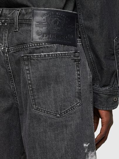 Diesel - D-WILLOH-X-SP, Negro - Shorts - Image 4