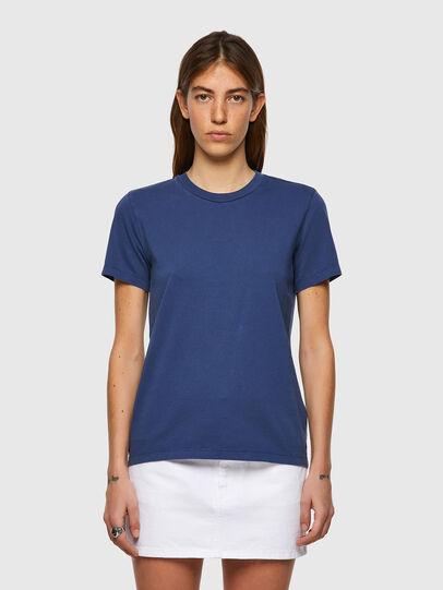 Diesel - T-SILY-B1, Azul - Camisetas - Image 1