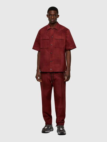 Diesel - S-GUNN-TIE, Rojo - Camisas - Image 5