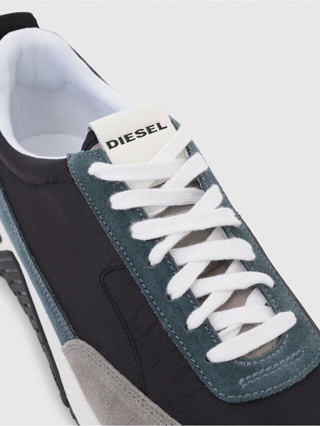 Diesel - S-KB LOW LACE, Gris/Azul - Sneakers - Image 5