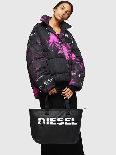Diesel - F-BOLD SHOPPER II, Negro - Bolsos Shopper y Al Hombro - Image 6