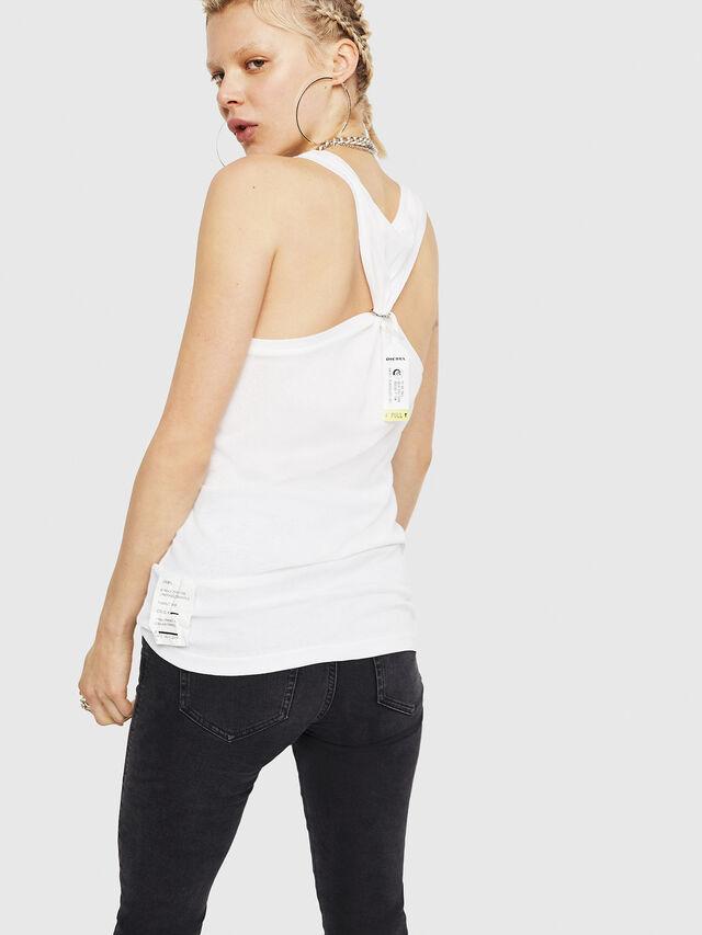 Diesel - T-KARY, Blanco - Camisetas - Image 2