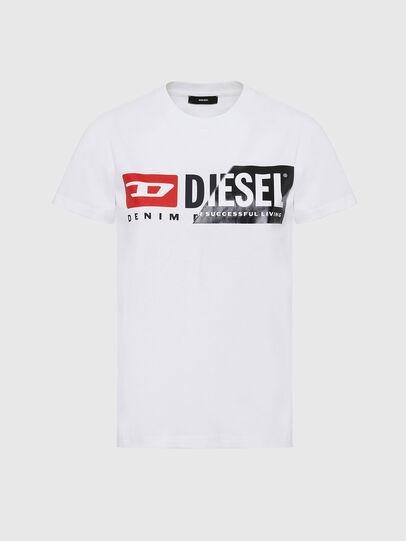 Diesel - T-SILY-CUTY, Blanco - Camisetas - Image 1