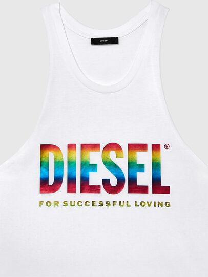 Diesel - BMOWT-LOCOARM-P, Blanco - Tops - Image 3