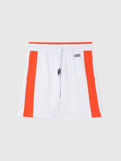 Diesel - UMLB-PAN-SP, Blanco/Naranja - Pantalones - Image 1