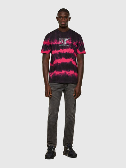 Diesel - Krooley JoggJeans® 069SY, Negro/Gris oscuro - Vaqueros - Image 4