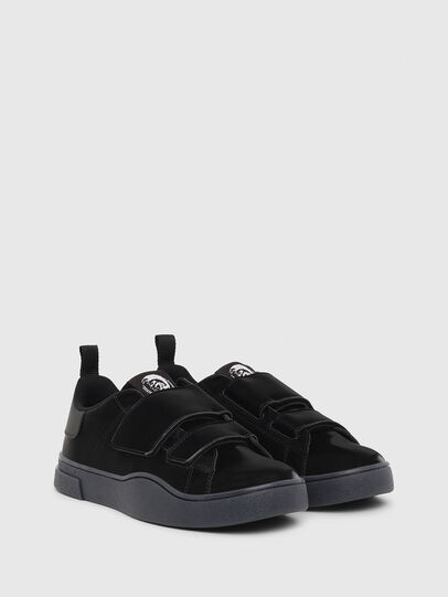 Diesel - S-CLEVER LOW STRAP W, Negro - Sneakers - Image 2