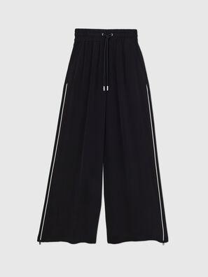 P-CHINILLE-WOV, Negro - Pantalones