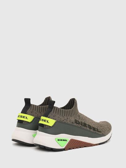 Diesel - S-KB SOCK QB, Verde Oliva - Sneakers - Image 3