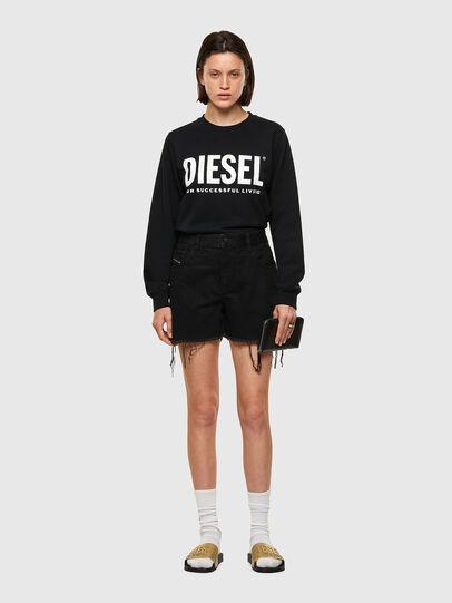 Diesel - DE-REG-R, Negro - Shorts - Image 5