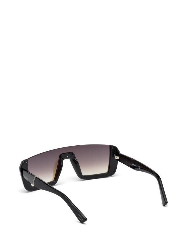 Diesel - DL0248, Negro Brillante - Gafas de sol - Image 2