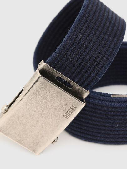 Diesel - B-COMBA, Azul - Cinturones - Image 2