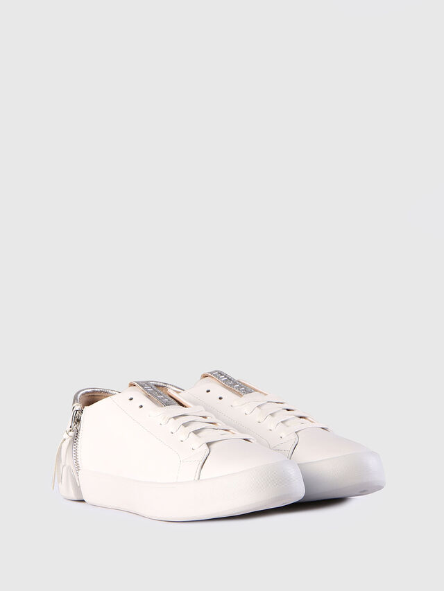 Diesel - S-NENTISH LC W, Blanco - Sneakers - Image 3