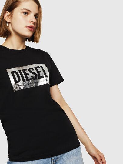 Diesel - T-FOIL, Negro - Camisetas - Image 4