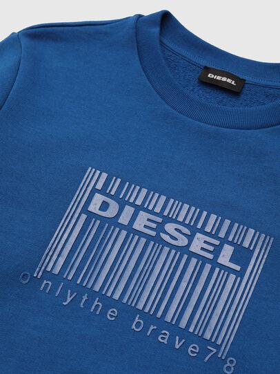 Diesel - SCOLIGCODE OVER, Azul - Sudaderas - Image 3
