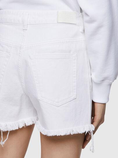 Diesel - DE-REG-R, Blanco - Shorts - Image 4