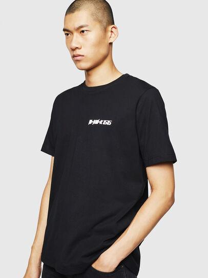 Diesel - T-JUST-B31, Negro - Camisetas - Image 1