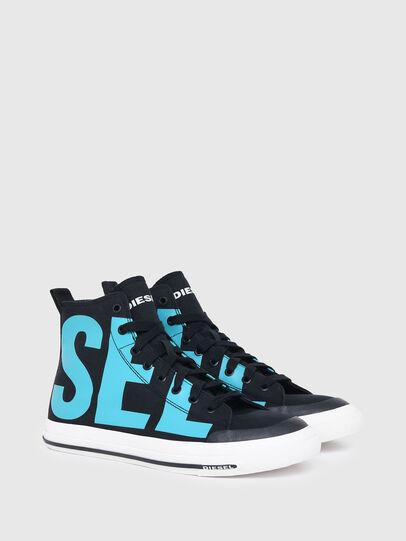 Diesel - S-ASTICO MID CUT, Negro/Azul marino - Sneakers - Image 2
