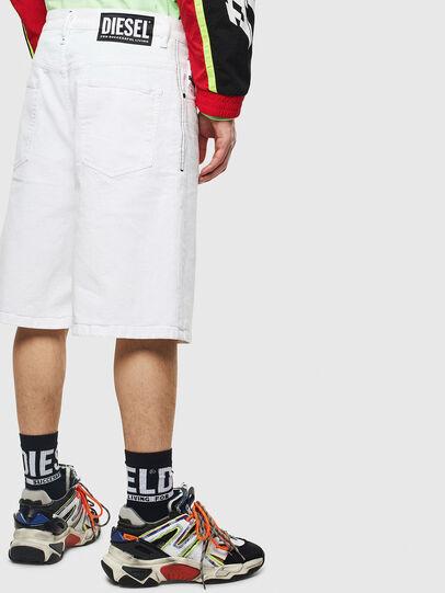 Diesel - D-BRON, Blanco - Shorts - Image 2