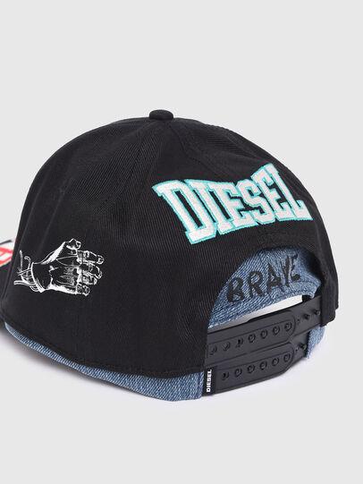 Diesel - CERA, Negro - Gorras - Image 3