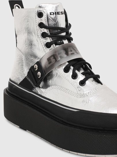 Diesel - H-SCIROCCO STRAP, Plata - Sneakers - Image 4