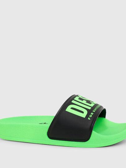 Diesel - SA-MAYEMI YO, Verde/Negro - Calzado - Image 4
