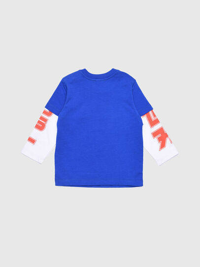 Diesel - TUCOB, Azul/Blanco - Camisetas y Tops - Image 2