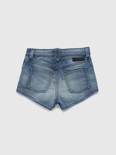 Diesel - PGINGHER JOGGJEANS, Azul medio - Shorts - Image 2