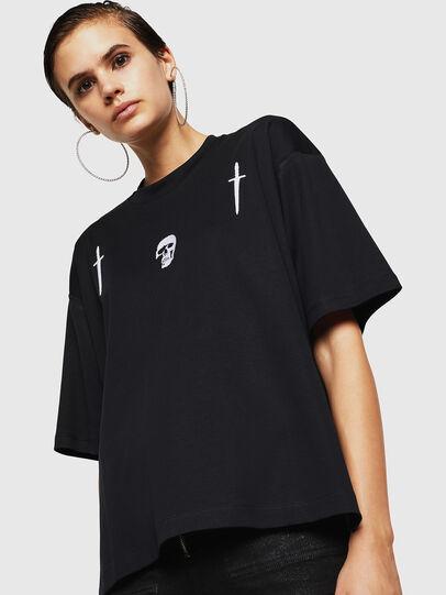 Diesel - TELIX-A, Negro - Camisetas - Image 1