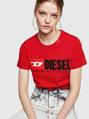 T-SILY-DIVISION, Rojo Fuego - Camisetas