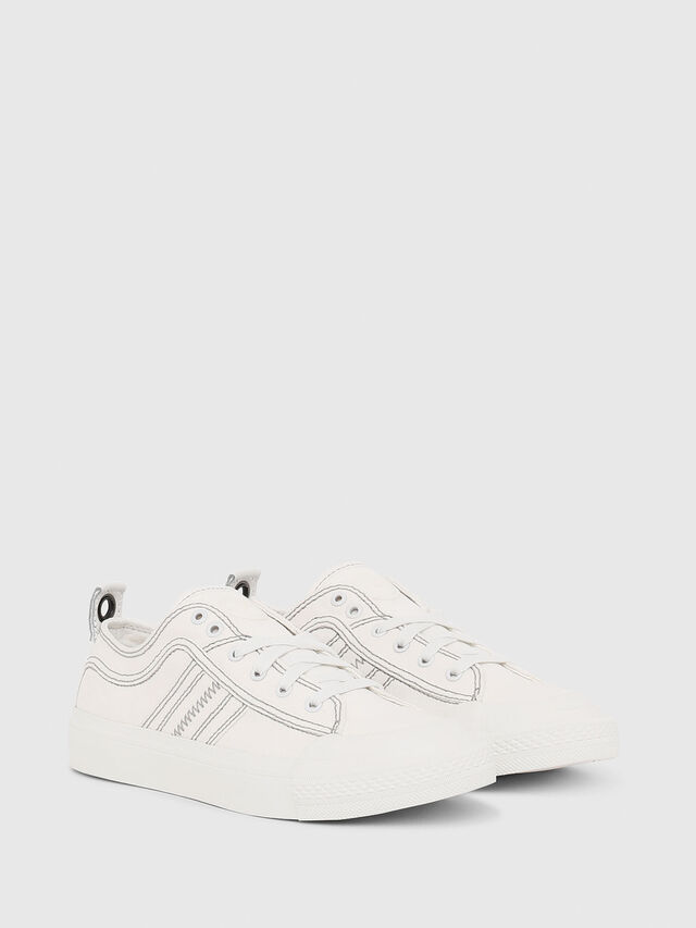 Diesel - S-ASTICO LOW LACE W, Blanco - Sneakers - Image 2