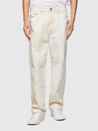 Diesel - D-FRAN-SP1, Blanco - Pantalones - Image 1